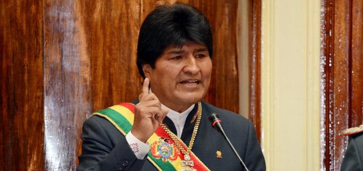 Presidente Evo Morales. Imagen: Presidencia del Estado Plurinacional de Bolivia.