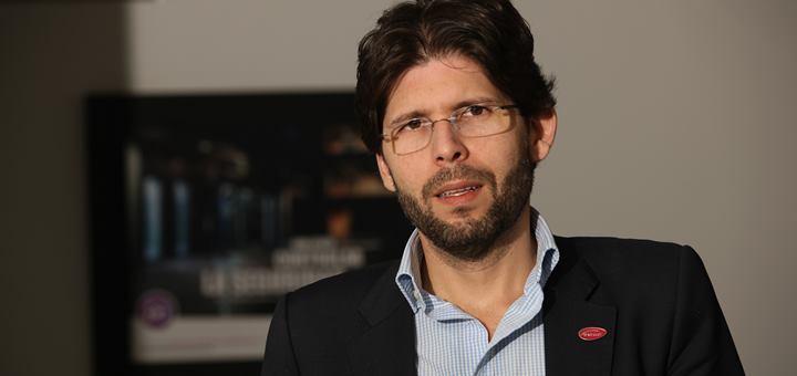 Jorge Andres Palacio Becerra, presidente de Avantel. Imagen: Leon Darío Pelaez/ Avantel