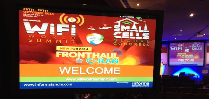 Evento de Informa Wi-Fi, Small Cells, C-RAN Fronthaul 2014 - Imagen: TeleSemana.com