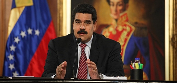 El Presidente Nicolás Maduro anuncia la asignación de espectro para servicios 4G. Imagen: Conatel