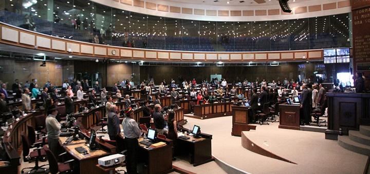 Asamblea Nacional de Ecuador. Imagen: Asamblea Nacional.
