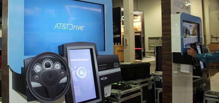 AT&T Drive en Super Mobility Week. Imagen: AT&T