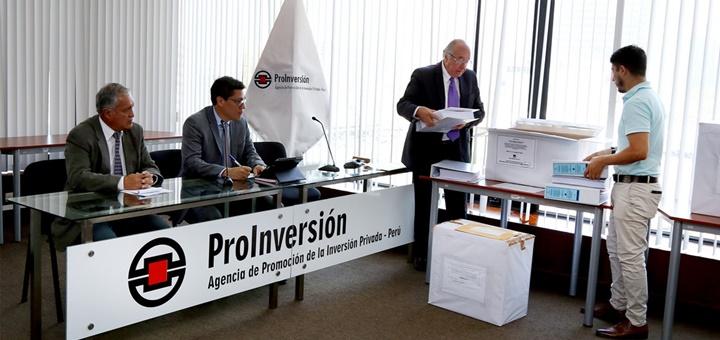Apertura de sobres para licitación de banda ancha de Fitel. Imagen: ProInversión