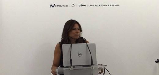 Conferencia de prensa de Movistar Chile en el MWC. Imagen: Movistar