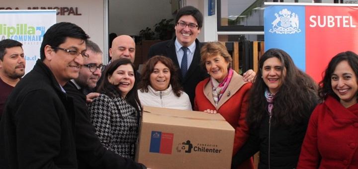 Tercera fase del proyecto Wifi ChileGob en la región Metropolitana. Fuente: Subtel.