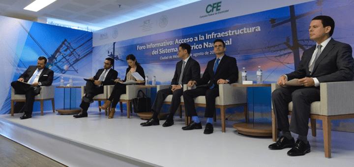 Foro Acceso a Infraestructura eléctrica a prestadores de servicios públicos. Imagen: IFT.
