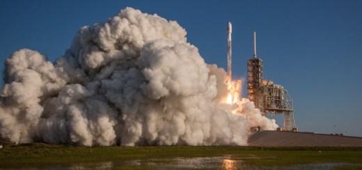 Lanzamiento del SES-10. Imagen: SES