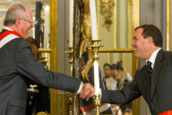 Bruno Griuffra jura como ministro de Transportes y Comunicaciones. Imagen: MTC.