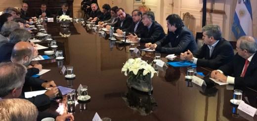 Macri anuncia cambios en el Gabinete. Imagen: Casa Rosada.