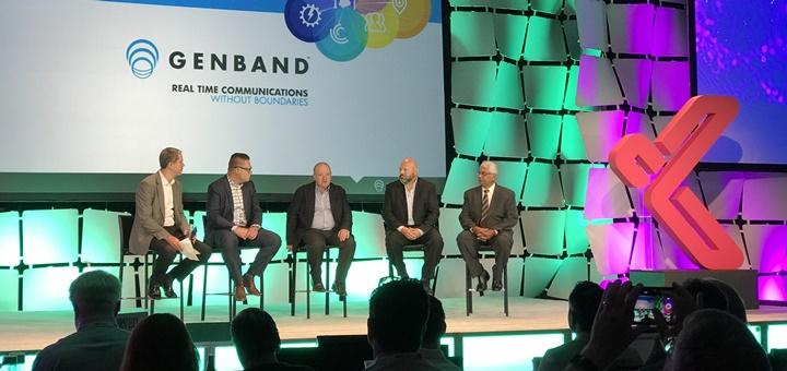 Panel sobre innovación en Genband Perspectives 17. Imagen: TeleSemana.com