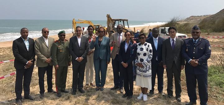 Inició el despliegue del SACS. Imagen: Angola Cables.