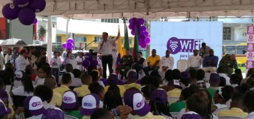 Instalan puntos Wi-Fi en Chocó. Imagen: Mintic