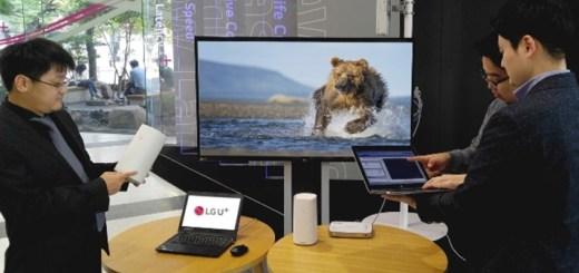 Prueba de 5G FWA. Imagen: Huawei