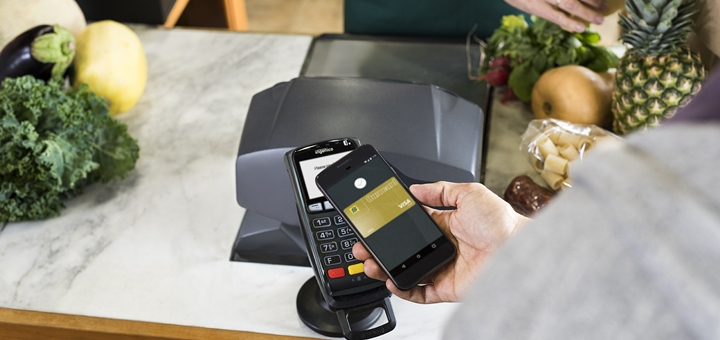 Android Pay. Imagen: Google Brasil.