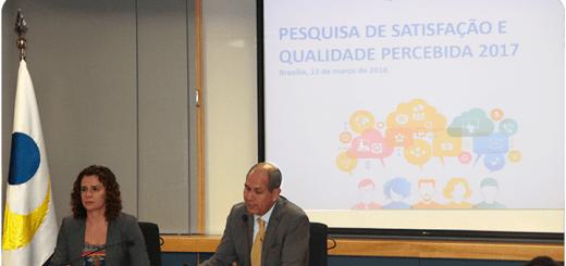 Presentación de la Pesquisa de Satisfação e Qualidade Percebida 2017. Imagen: Anatel.