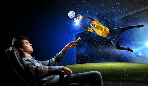 shutterstock_Sergey Nivens_radiodifusao_TV_paga_TV_device_TV_na_Copa_Copa