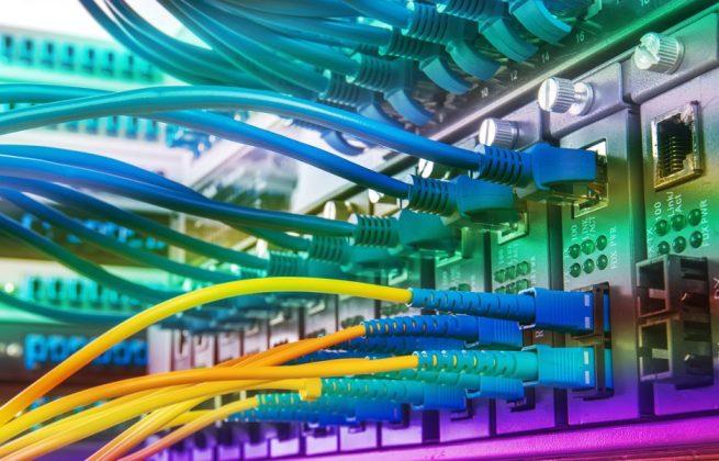 redes network fibra optica backbone