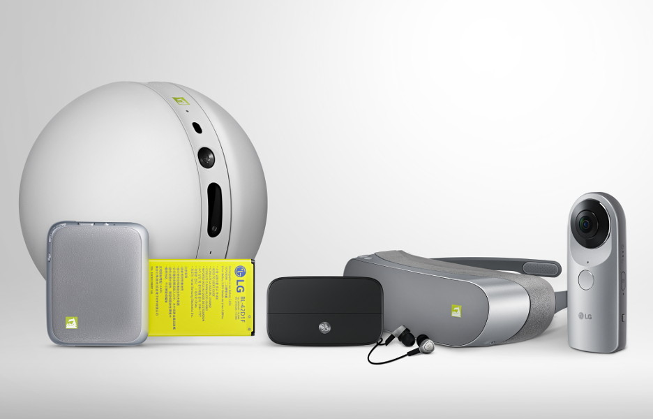 lg g5 acessorios robo camera bateria