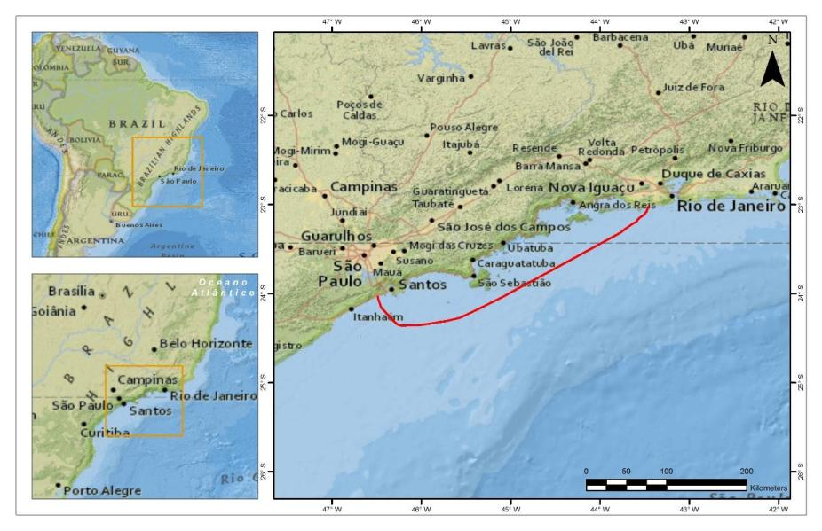 cabo submarino mapa junior google padtec