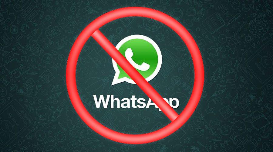 Bloqueio WhatsApp