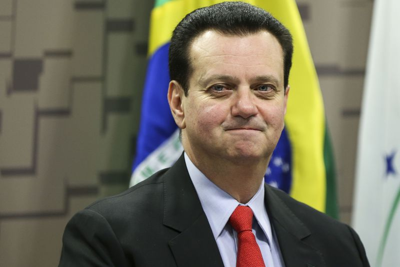 Brasília - A Comissão de Ciência, Tecnologia, Inovação, Comunicação e Informática realiza audiência pública com a presença do ministro de Ciência, Tecnologia, Inovação e Comunicações, Gilberto Kassab, que apresenta as ações do governo na sua área (Marcelo Camargo/Agência Brasil)