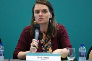 Bia Barbosa   Encontros Tele.Síntese 51 - 21/11/17 – Brasília-DF   Foto: Gabriel Jabur
