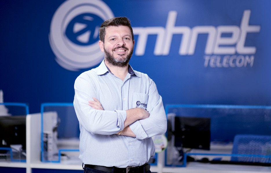Patrick Canton, CEO da Mhnet Telecom. Foto: divulgação.