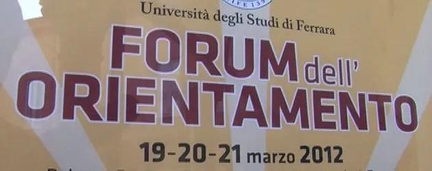 Unife, ultimo giorno del forum dell'Orientamento