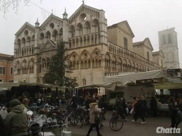 Ferrara, il sisma rinvia il mercato