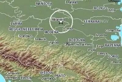 Terremoto, aggiornamenti nei telegiornali di Telestense
