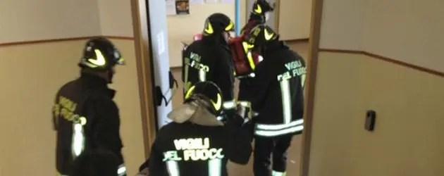 Simulazione antincendio a Jolanda