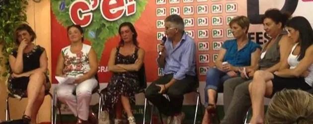 """Donne """"coraggio"""" alla Festa del PD"""