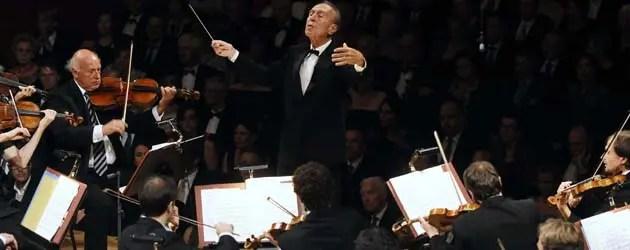 Abbado e Lucerne Orchestra in concerto per Ferrara