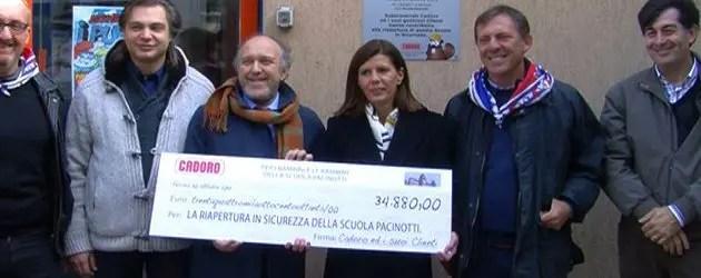 Donazioni per la scuola Pacinotti