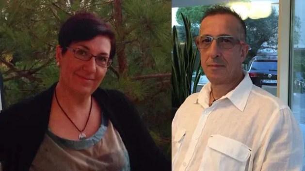 I coniugi uccisi a Pontelangorino