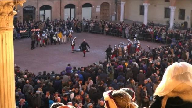 Carnevale Rinascimentale a Ferrara, la festa di domenica – VIDEO