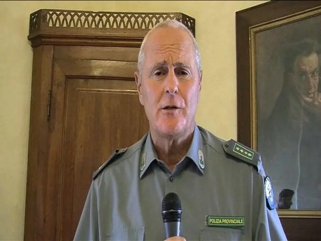 Claudio Castagnoli, comandante Polizia provinciale Ferrara