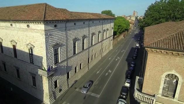 Diamanti, da lunedì apre il cantiere. Ma il Palazzo rimane aperto ai turisti – VIDEO
