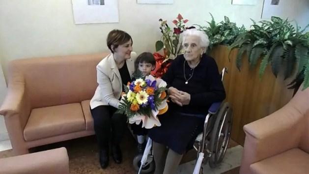 La festa della donna con le centenarie di Vigarano – VIDEO