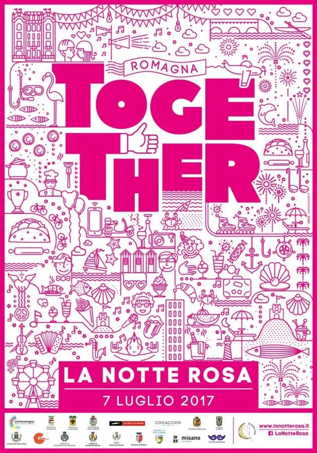 La Notte Rosa da vivere con Samuele Bersani a lido Nazioni – VIDEO