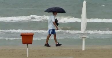 maltempo lidi mareggiata pioggia