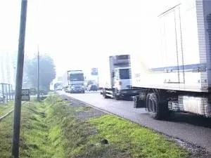 traffico romea lidi auto camion