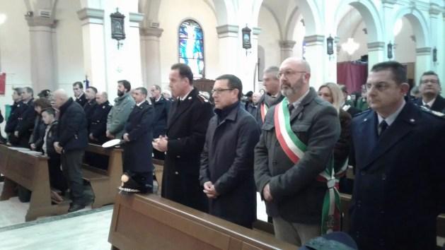 Copparo: cerimonia in ricordo del vice brigadiere dei Carabinieri, Armando Sepe