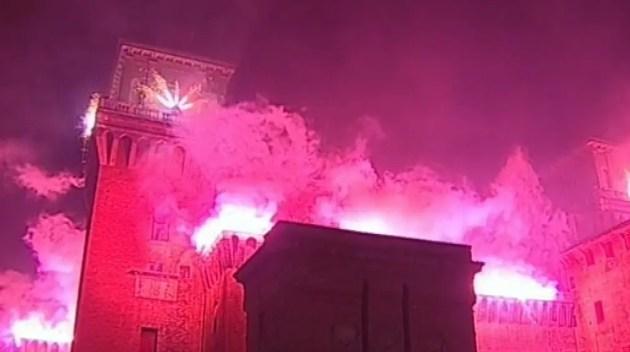 L'incendio del Castello, uno spettacolo per tutti – VIDEO INTEGRALE