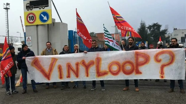 Vinyloop: sindacati chiedono investimenti per evitare la chiusura  – VIDEO