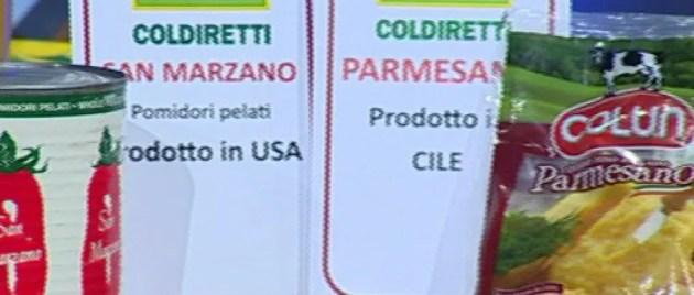"""Coldiretti: """"I cibi falsi costano 8 miliardi di euro"""""""