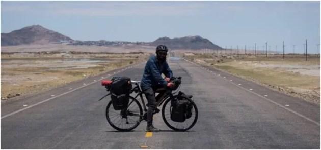 """""""Beati Chi?"""": 5 mila km in bici raccontati da Dario Nardi"""