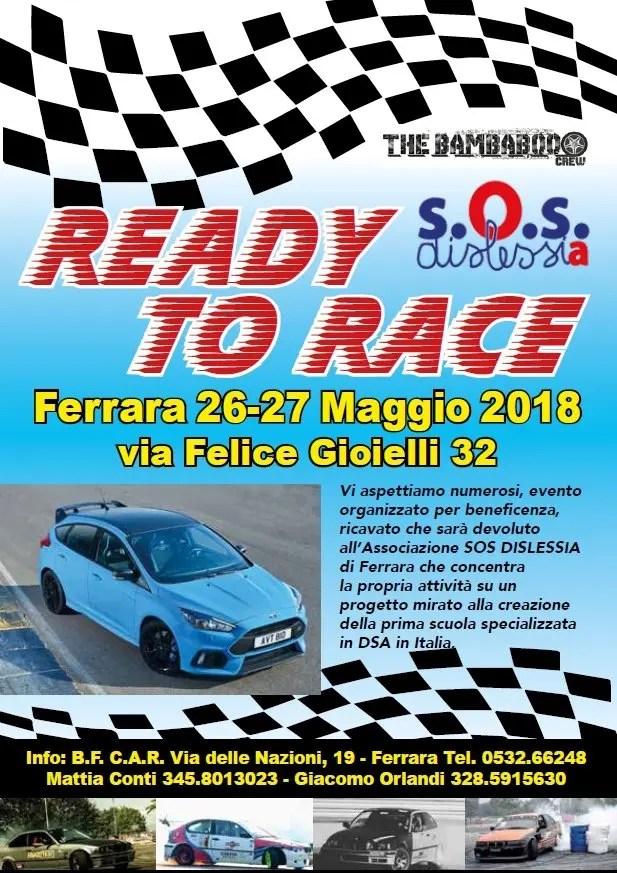 """""""Ready to race"""", fra gare automobilistiche, spettacoli ed esposizioni"""