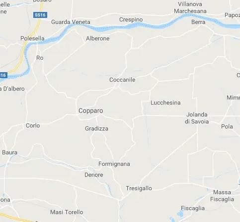 Ro-Berra e di Formignana-Tresigallo diventano Riva del Po e Tresignana