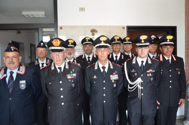 Comandante Interregionale Carabinieri in visita nel copparese